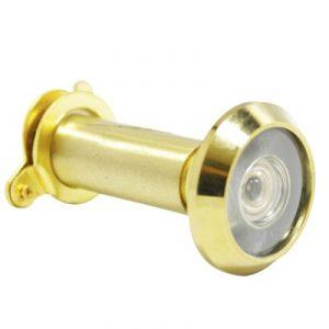 180 Deg Brass Door Viewer 12mm Dia 35-55mm