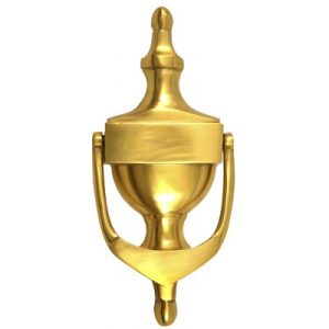 "6"" Victorian Urn Gold Anodised Door Knocker"