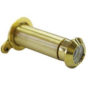 160 Deg Brass Door Viewer 12mm Dia 35-55mm