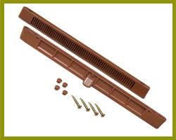 Sealco Slotvent 288mm Tan TVB040