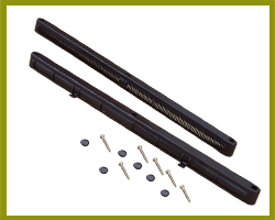 Sealco Slotvent 440mm Brown TVB05B