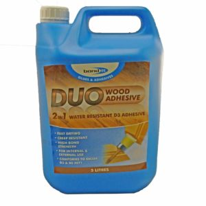 Bond It Duo 2 In 1 Wood Glue 5 Litre White