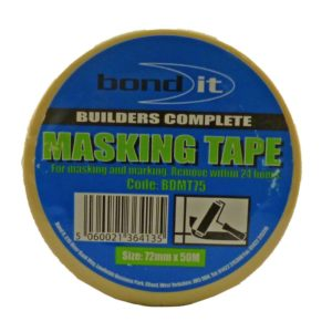 Bond It Masking Tape 25mm X 50m Roll