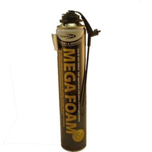 Bond It Megafoam PU Expanding Foam Gun/Aerosol 750ml Beige