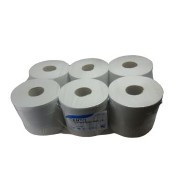Paper Towels 150m X 195mm  375 Sheets Per Roll / PACK OF 6 ROLLS