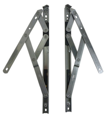Nico 300mm Egress Easyclean Friction Hinge (pair) 13mm Stack