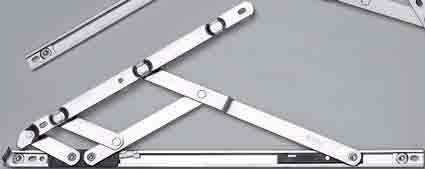Nico 400mm Egress Easyclean Friction Hinge (pair) 13mm Stack
