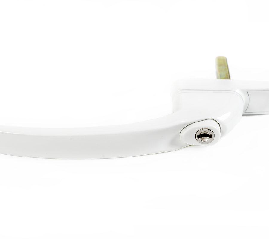 Endurance Inline Locking White Window Handle 30mm Spindle-2053