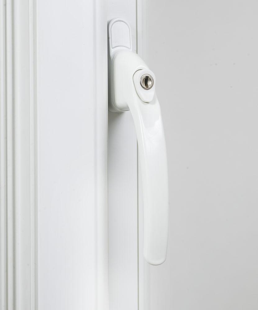 Endurance Inline Locking White Window Handle 30mm Spindle-2052