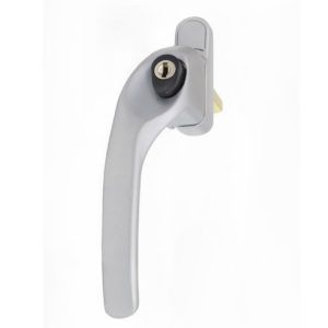 Endurance Satin Chrome Left Hand Window Handle 40mm Spindle