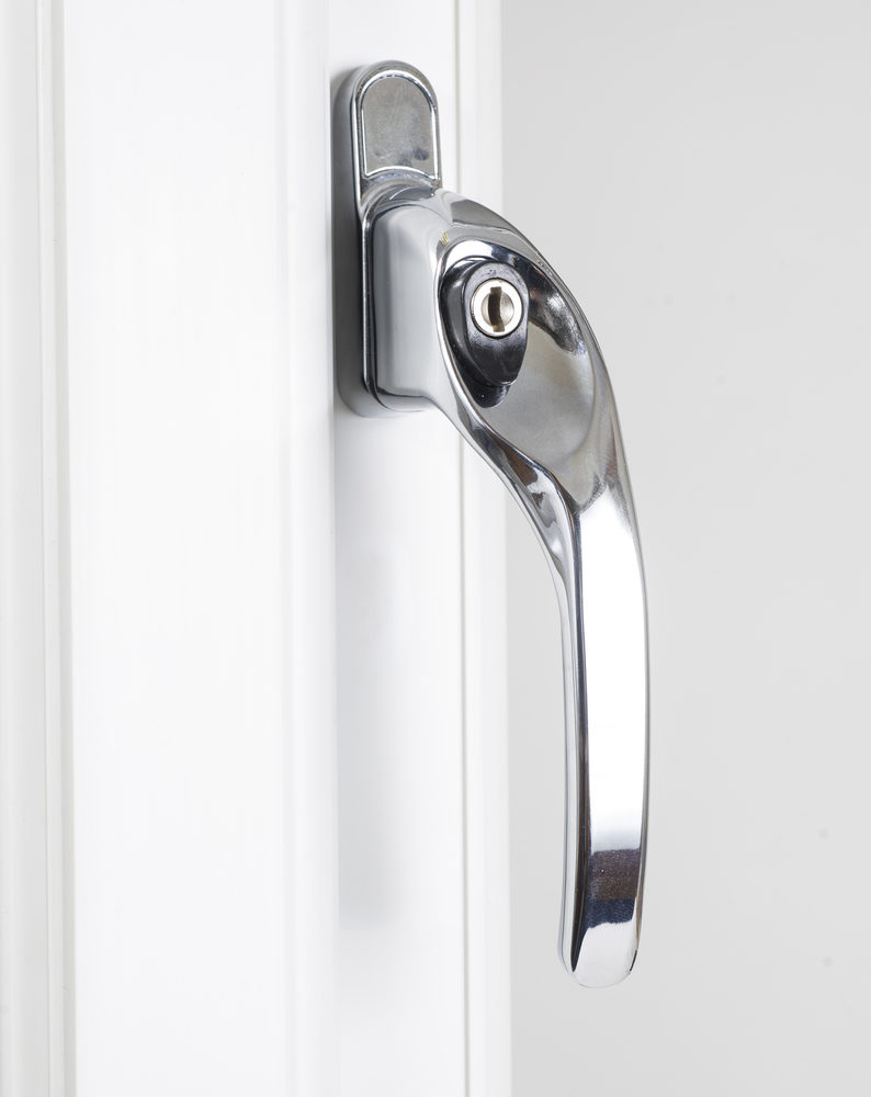 Endurance Polished Chrome Right Hand Window Handle 30mm Spindle-2199