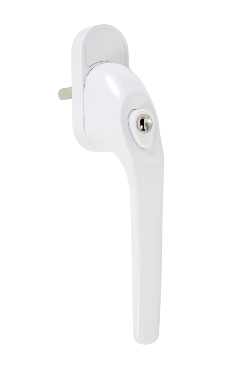 Endurance White Tilt And Turn Handle Locking 35mm Spindle