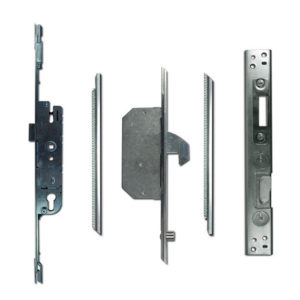 Adjustable Multipoint Lock 28/92 2 Hook / 2 Roller 16mm Faceplate