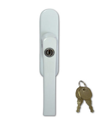 Adaptable Blade / Fork Drive Window Handle White