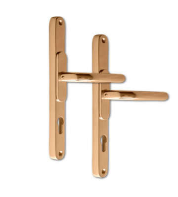 Adjustable Door Handle Pro 59-96mm Polished Gold