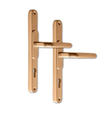 Adjustable Door Handle Pro 59-96mm Polished Gold