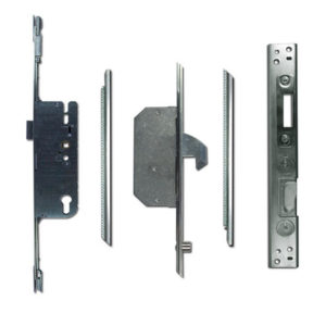 Adjustable Multipoint Lock 45/92 2 Hook / 2 Roller 16mm Faceplate