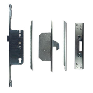 Adjustable Timber Multipoint Lock 55/92 2 Hook 20mm Faceplate