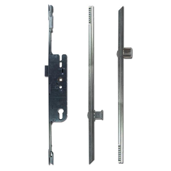 Adjustable Multipoint Lock 35/92 2 Roller / 2 Mushroom 16mm Faceplate-0