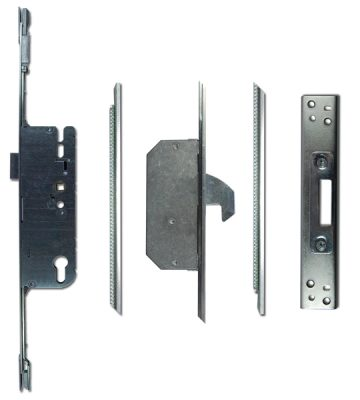 Adjustable Timber Multipoint Lock 45/92 2 Hook 20mm Faceplate