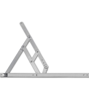 Adaptable Friction Stay 400mm Side Hung 13/17mm Stack