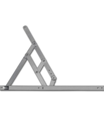 Adaptable Friction Stay 400mm Top Hung 13/17mm Stack