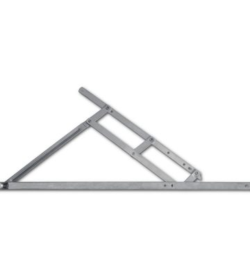 Adaptable Friction Stay 600mm Top Hung 13/17mm Stack