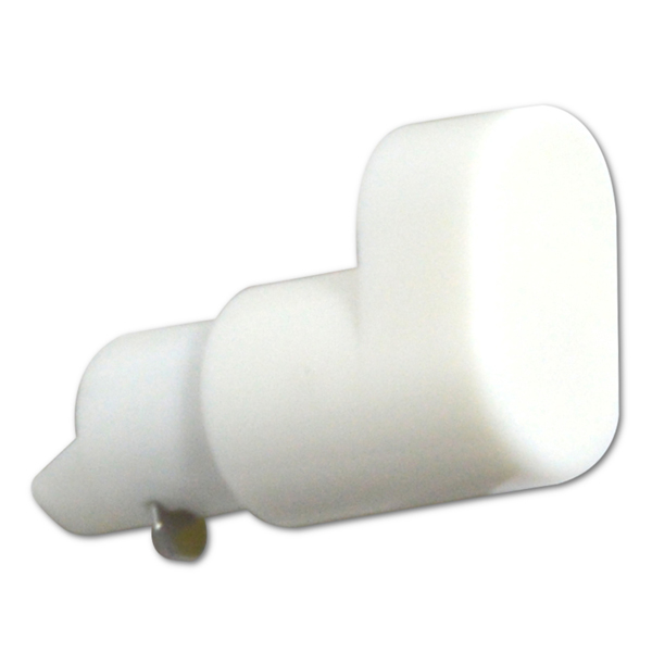 Replacement Window Handle Espag Button White-0