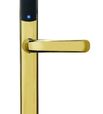 Yale Conexis L1 Smart Door Lock Polished Brass