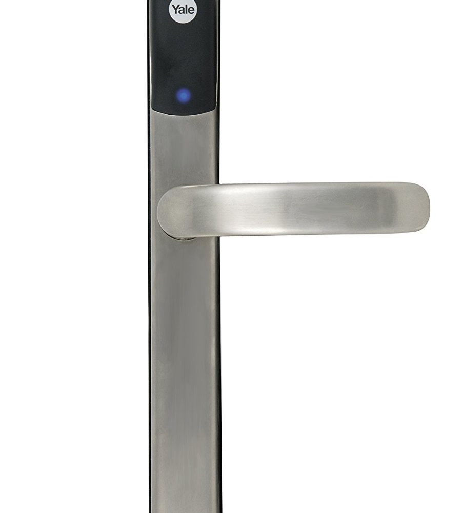 Yale Conexis L1 Smart Door Lock Satin Nickel