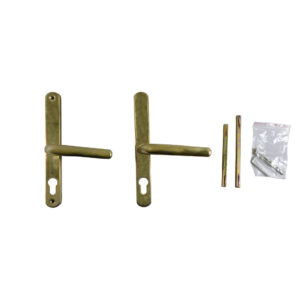 Fullex 68mm Centre Polished Brass Door Handle