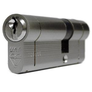 UAP Anti Snap Keyed Alike 45/55 Nickle Euro Profile Cylinder (pair)