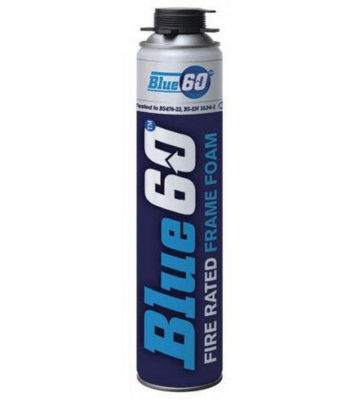 Blue 60 Fire Rated Foam 750ml (Gun Grade)