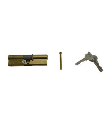 UAP KIN30/30NAS 35/35 Brass 3 Star Cylinder