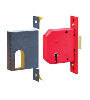 Retail Pack Universal BS Deadlock Kit C/w Strike Plate
