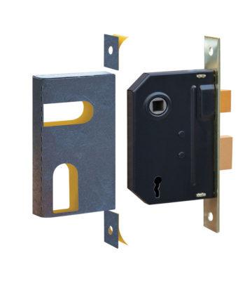 Retail Pack Universal BS Sashlock Kit C/w Strike Plate