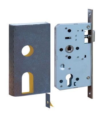 Retail Pack Universal Din Lock Kit C/w Strike Plate