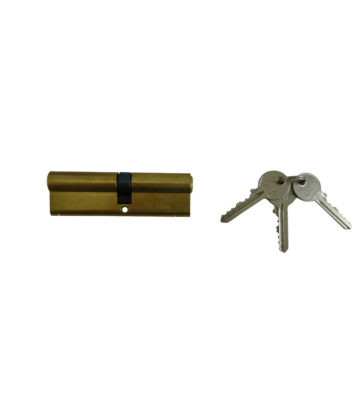 TL 45/50 Brass Trade Euro Cylinder