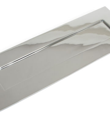 From The Anvil Polished Chrome Large Letterplate