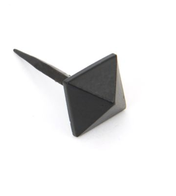 From The Anvil Black Pyramid Door Stud – Small