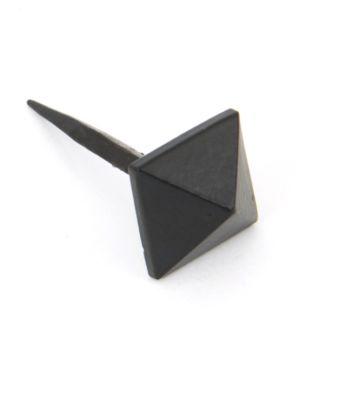 From The Anvil Black Pyramid Door Stud – Medium