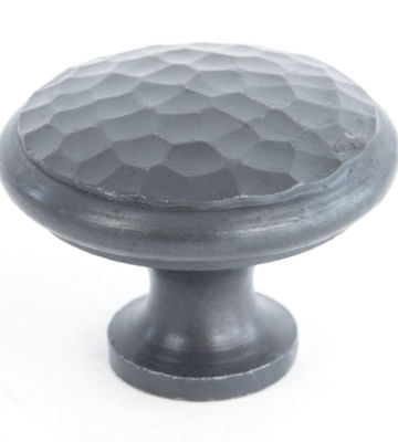 From The Anvil Beeswax Beaten Cupboard Knob – Large