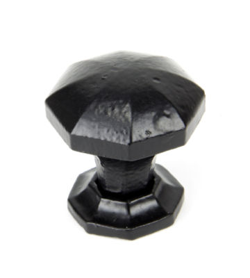From The Anvil Black Octagonal Cabinet Knobs – Small