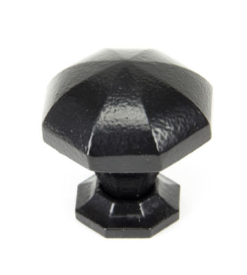 From The Anvil Black Octagonal Cabinet Knobs – Large