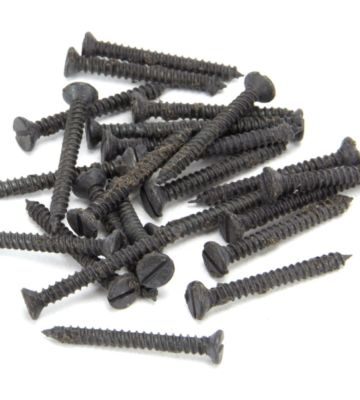 From The Anvil Beeswax 6 X 1 1/4″ Countersunk Screws (25)