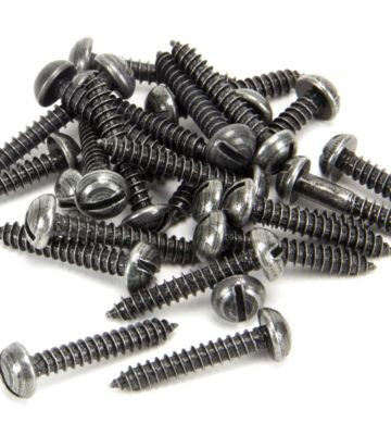 From The Anvil Pewter 8 X 1″ Spare Round Head Screws (25)