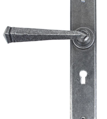 From The Anvil Pewter Gothic Lever Lock Set
