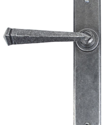 From The Anvil Pewter Gothic Lever Latch Set