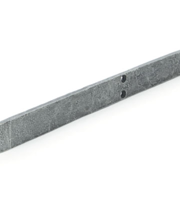 From The Anvil Pewter Patina 12″ Flush/Slide Door Bolt