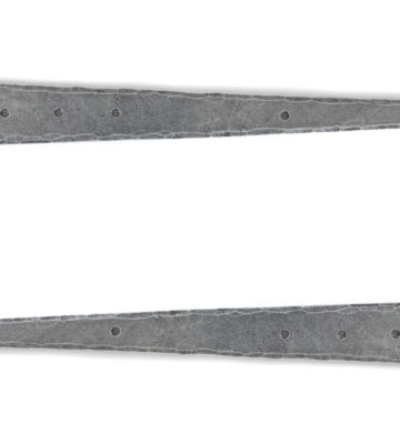 "From The Anvil Pewter 15"" T Hinge (pair)"
